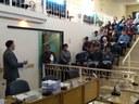 Alunos da Escola Estadual Dona Olímpia Falci conhecem a Câmara Municipal