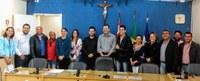 Deputado estadual Junior Aprillanti visita  Câmara de Ibiúna