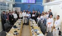 Envolvidos com o esporte ibiunense são homenageados pela Câmara Municipal