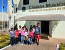 Estudante vão à Câmara pedir apoio para mutirão de limpeza no Mirante do Bairro Figueira:  vereadores se comprometem a ajudar