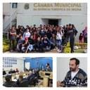 Estudantes do Jardim Nova Ibiúna tomam conta da assistência da Câmara Municipal