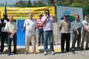 Pedrão da Água e prefeito Coiti inauguram pavimentação de ruas do Paiol Pequeno