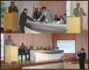 Solenidade marca a posse da nova mesa diretora da Câmara Municipal de Ibiúna