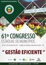 Participação de vereadores no Congresso de Municípios antecipará Sessão Ordinária do dia 24 de abril