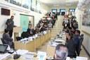 Primeira Sessão de 2018 teve intensa participação popular e escolha das Comissões Permanentes