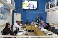 Secretário esclarece aos vereadores o andamento das obras em Ibiúna